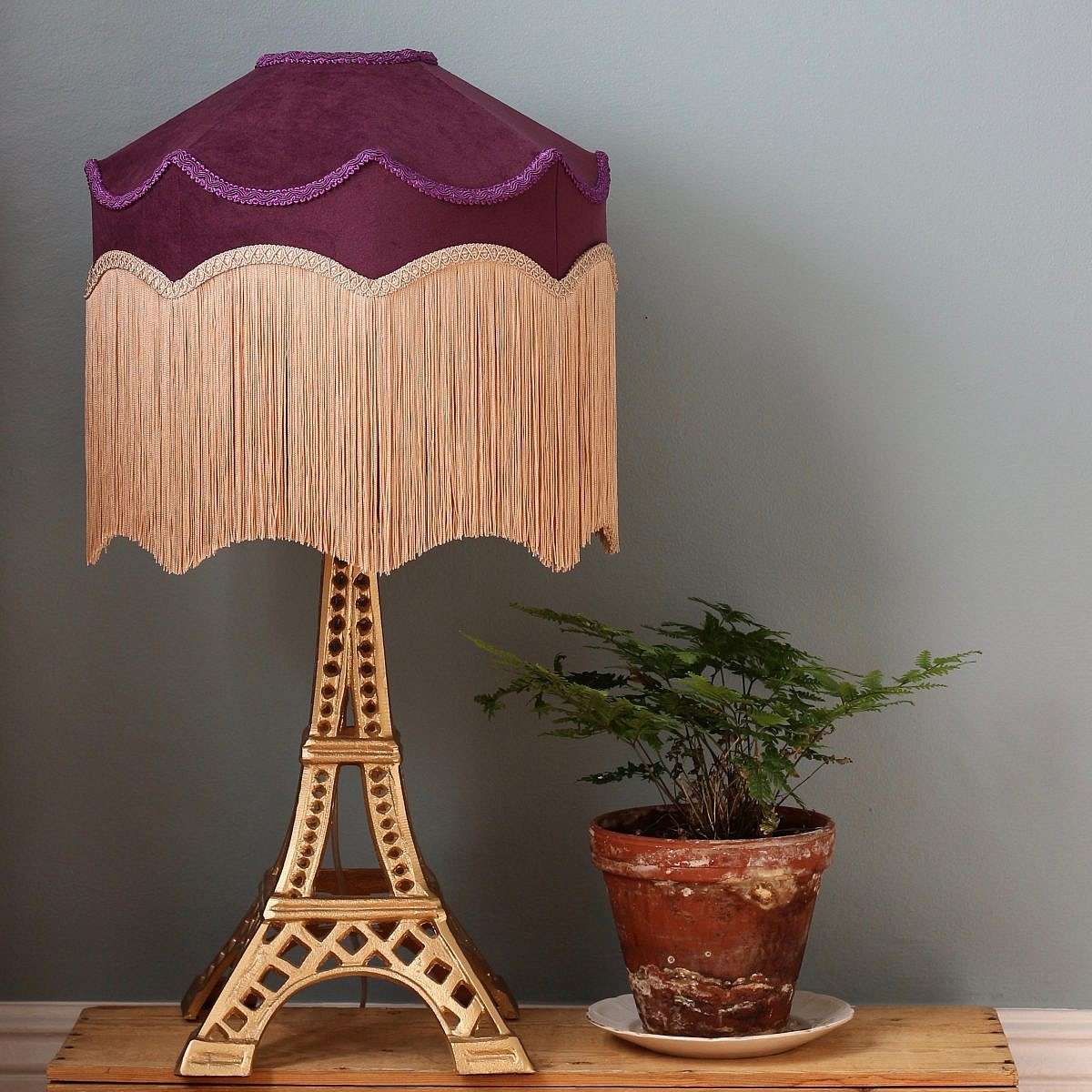 Lampskärm Belle - Plum Nude